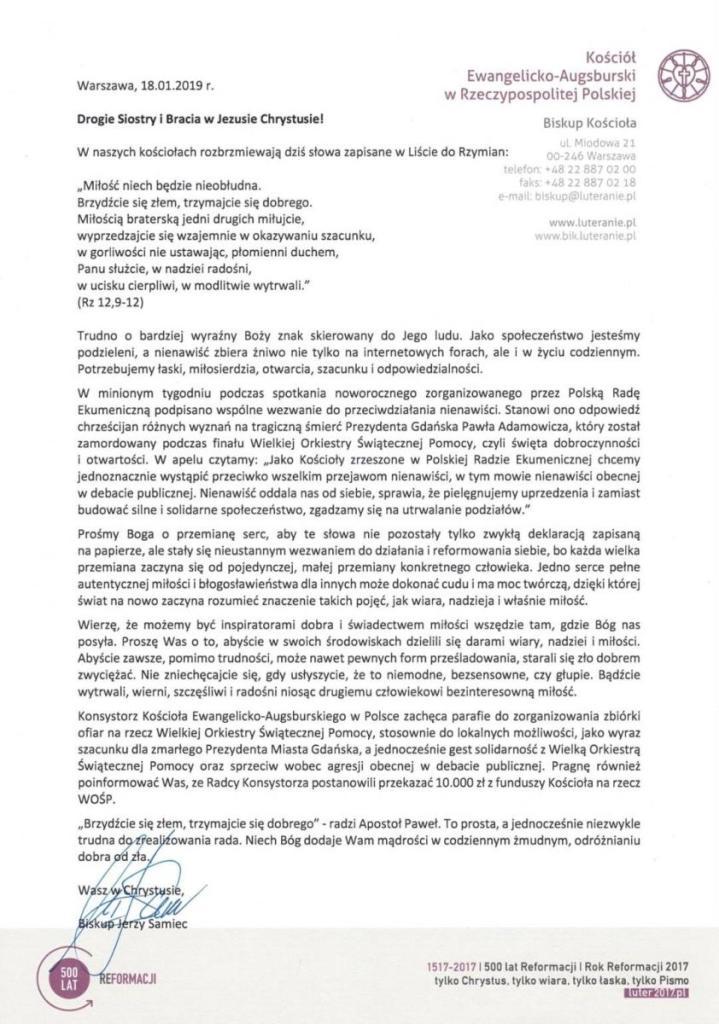 List Bpa Jerzego Samca