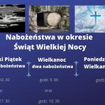 nabożeństwa w okresie świąt Wielkiej Nocy
