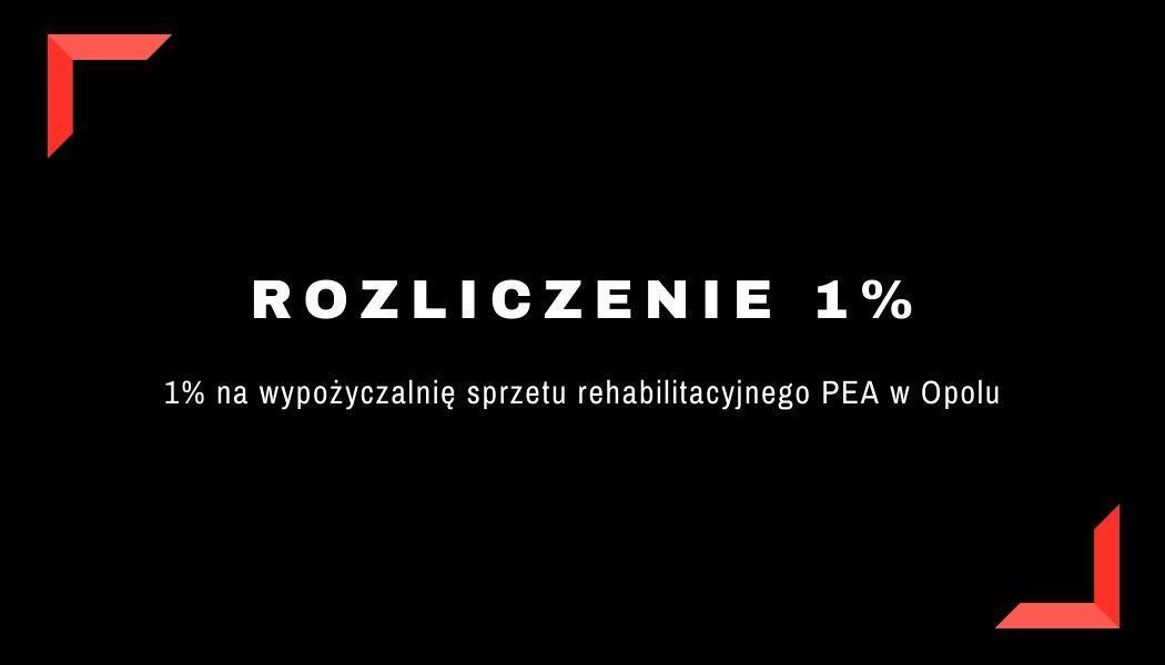 Rozliczenie 1%